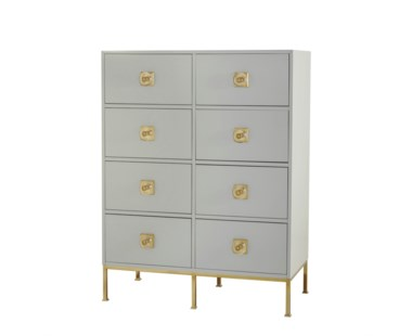 Formal Chest - 8 Drawer / Putty
