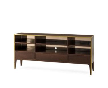 Silhouette Console Table - Smoked Eucalyptus
