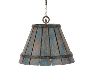 Chip Hanging Shade - Blue