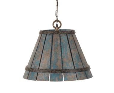 Chip Hanging Shade - Blue
