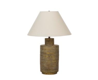 Ceramic Fez Lamp - Gold