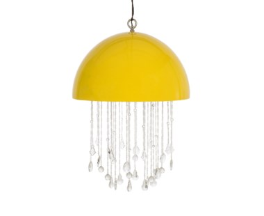 Lunar Chandelier - Large / Yellow