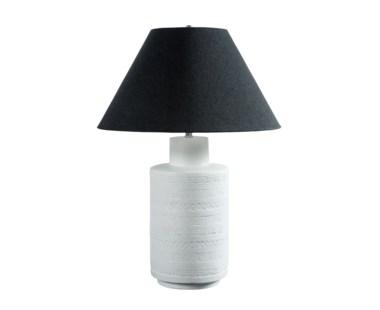 Ceramic Fez Lamp - White