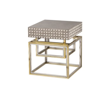Cowrie Side Table - Concrete Top