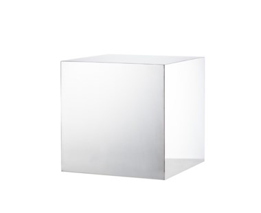 Morgan Accent Table - Square / Stainless