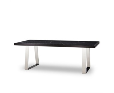 Jopling Dining Table - Black Marble