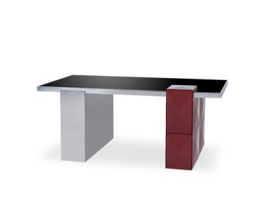 Picasso Desk - Burgandy