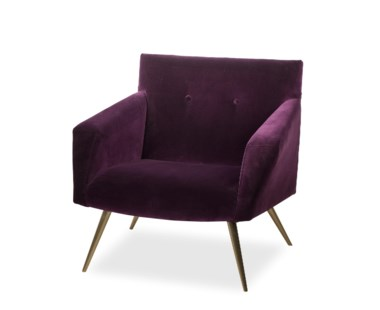 Kelly Occasional Chair - Vadit Deep Purple