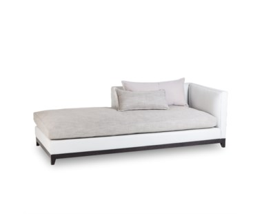 Jackson Chaise - Right Arm Facing / Fallon White