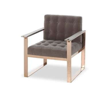 Vinci Arm Chair - Mohair