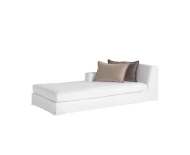 Jackson Modular Sofa - Left Arm Facing Chaise / Warm White