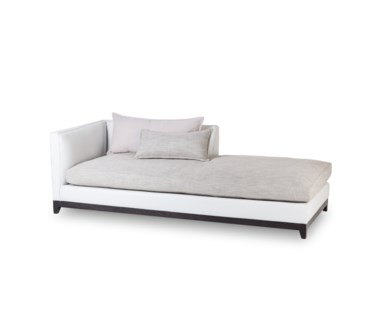 Jackson Chaise - Left Arm Facing / Fallon White