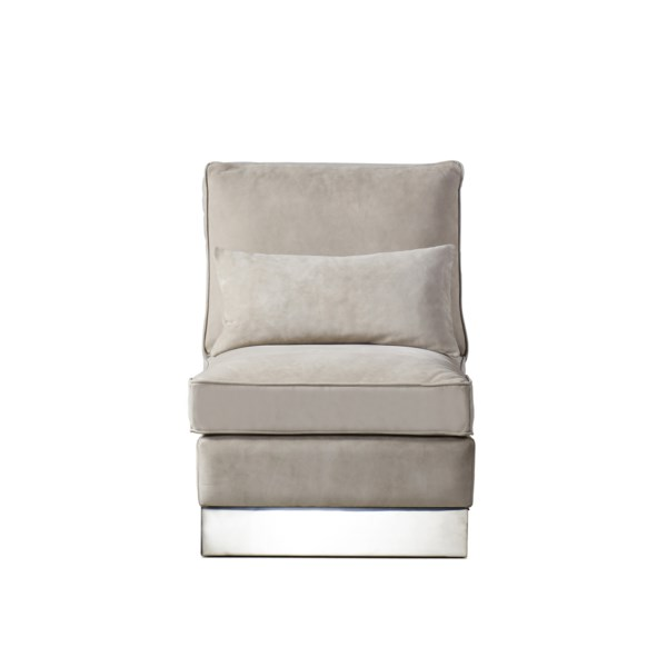 Molly Lounge Chair - Finley Beige