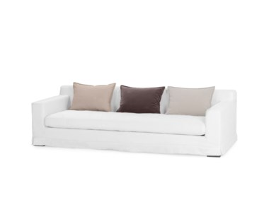 Jackson Sofa - Optic White Fabric