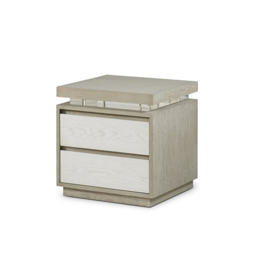 Newman 2 Drawer Bedside Chest
