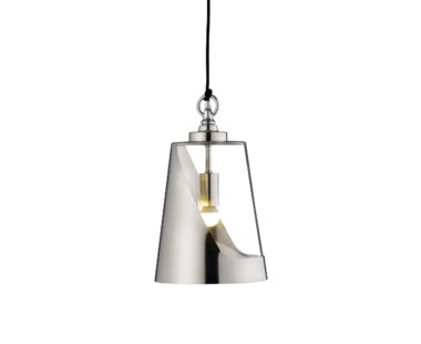 Bessie Pendant Lamp- Stainless