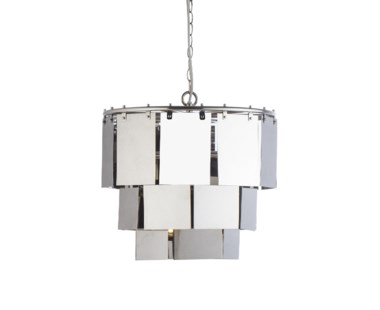 Marilyn Small Stainless Steel Chandelier