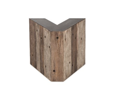 Alphabet Side Table - Letter V