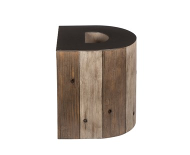 Alphabet Side Table - Letter D