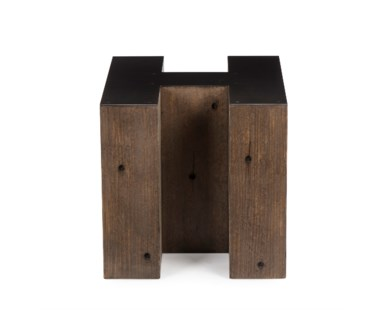 Alphabet Side Table  - Letter H