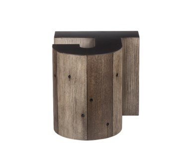 Alphabet Side Table - Letter J