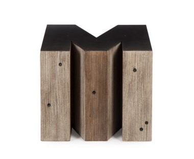 Alphabet Side Table - Letter M