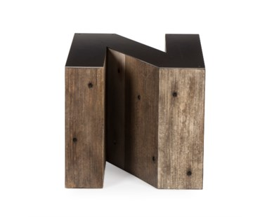 Alphabet Side Table - Letter N