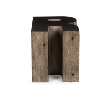 Alphabet Side Table - Letter R