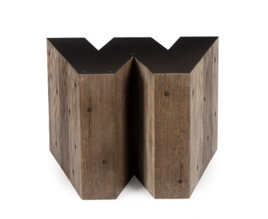 Alphabet Side Table - Letter W