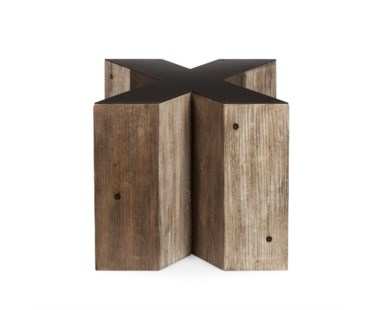 Alphabet Side Table - Letter X