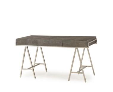 Sampson Desk - Charcoal Shagreen