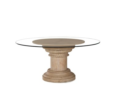 Column Capital Dining Table