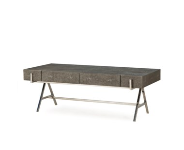 Sampson Coffee Table- Charcoal Shagreen