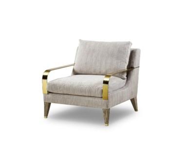Bartholemew Lounge Chair - Summit Taupe