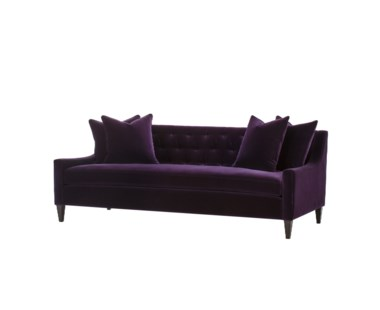 Stuart Sofa - Vadit Deep Purple Fabric