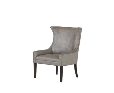 Hamish Chair - Mitt Silver Fabric