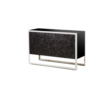 Dexter 2 Door Sideboard - Stainless Steel