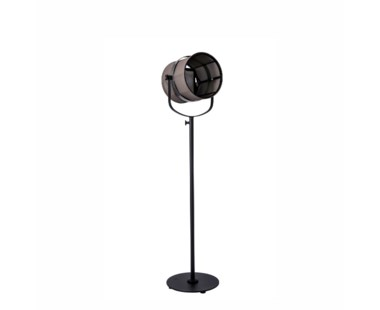 La Lampe Paris - Black Frame - Taupe shade