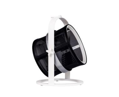 La Lampe Petite - White Frame - Black shade