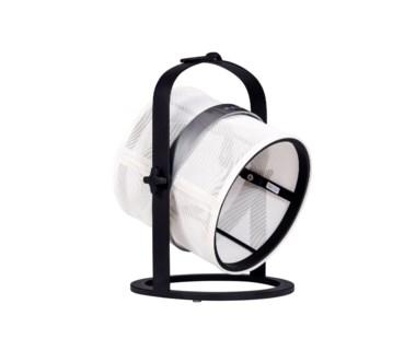La Lampe Petite - Black Frame - White shade