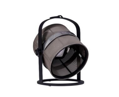 La Lampe Petite - Black Frame - Taupe shade