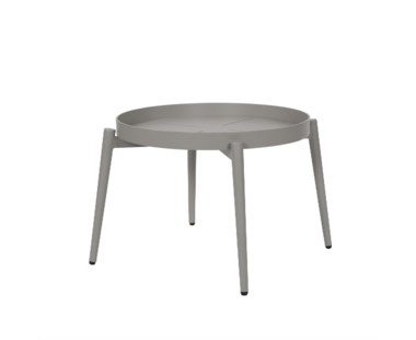 Alderman Coffee Table 400H - Round / Anthracite