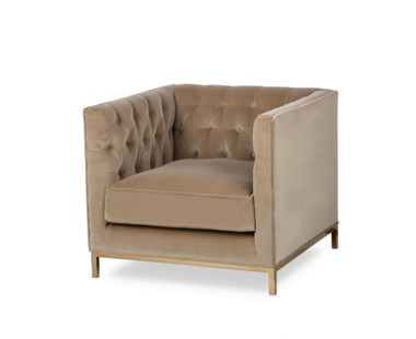 Vinci Tufted Occasional Chair - Grade 1