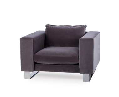 Monet Armchair - Stainless Steel / Grade 1