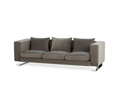 Monet Sofa - Stainless Steel / Grade 1