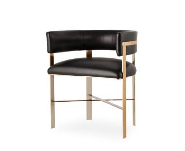 Art Dining Chair - Mirrored Brass / Grade 1
