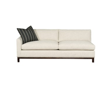 Hudson Sofa - Left Arm Facing  / Wood Base / Grade 1