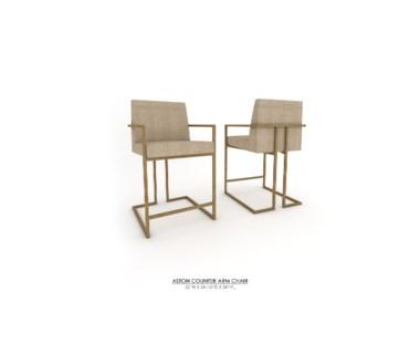 Ashton Counter Arm Chair - Grade 1