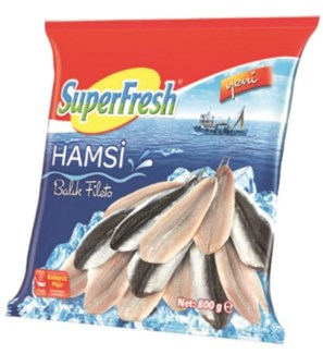 ANCHOVY FILLET (HAMSI) 800GRx10