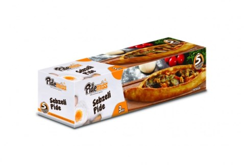 PIDE W/VEGETABLES  (125GRX3PCS)x12